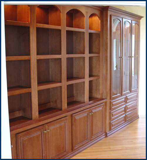 China View 1 Maple Bookcase 2
